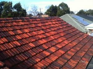 Terracotta roof repair